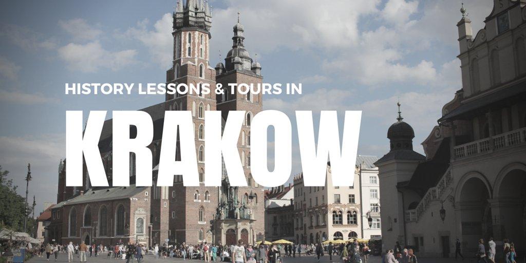Church in Krakow in Old Town